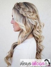 Half-open hairstyle – New half-open hairstyles 2019 – prom hairstyles half-open …