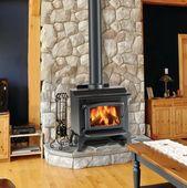 Wood Burning Stove Fireplace Designs, #Burning #Designs #Fireplace #Stove #Wood