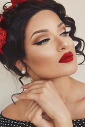 Wedding Vintage Makeup Beauty 32+