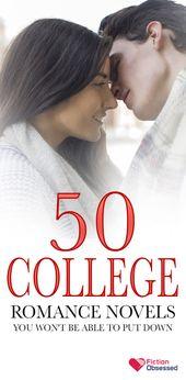 50 meilleurs romans romantiques à lire dans les universités 2019 – FictionObsessed  – Romance Novels for Women