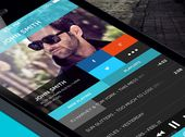 sound around1 Great Examples of Mobile Apps Interface Designs
