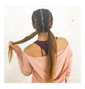 New Braids Ponytail Hairstyles For Sports 59+ Ideas