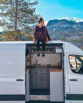 Mehr als 30 außergewöhnliche Wohnideen für Reisemobile als Inspiration   – Mobil Office and living