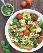 Summer Pesto Pasta Salad