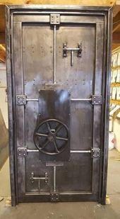Vault Tür Nr. 027ST • Industrie-Stil Dekor von Industrial Evolution Möbel Co