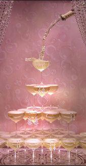Ideen für eine Cocktailparty mit dem Thema Great Gatsby   – Hochzeit