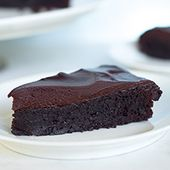 Pastel de chocolate sin harina   – Süßes
