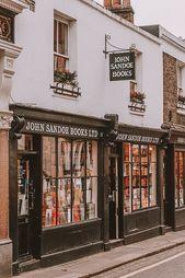 15 schönsten unabhängigen Buchhandlungen in London