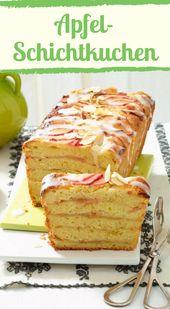 Saftig und lecker: die Apfeltorte   – Süße und herzhafte Rezepte mit Apfel