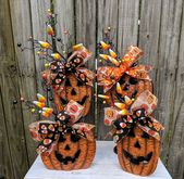 Jack O'Lanterns, Halloween Decor, Indoor Halloween Decorations Halloween Centerp…