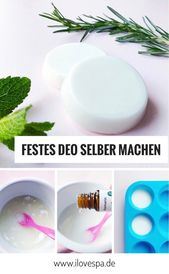 Festes Deo selber machen – DIY Rosemary Mint Deodorant