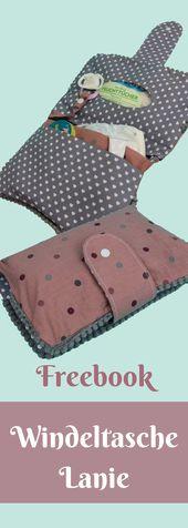 Sew diaper bag Lanie