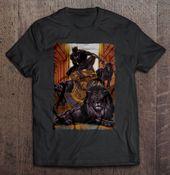 König des schwarzen Panthers im Löwe-Höhlen-T-Shirt-Geschenk, das Entwurfs-T-Shirt neigt   – Products