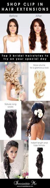 59 Trendy Haarverlängerungen Clip In Länge Frisuren - #Clip #Erweiterungen #Haar #Frisuren #Länge