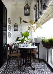 Es ist höchste Zeit, den vernachlässigten Balkon zu einem kleinen Paradies zu machen. Lass dich selbst – Balkon Garten 100 – visions of home