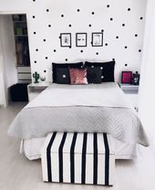 65 Cute Teenage Girl Bedroom Ideas: Stylish Teen Girl Room Decor (2019)