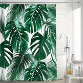 This shower curtain was made of polyester fabri with waterproof and mildew treat…  – Home Design Do-it-yourself