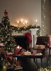 traditionelle Weihnachtsdekoration mit britischen Marken und Spencer   – It´s Christmas in the town