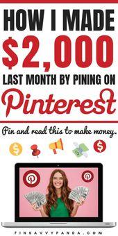 How To Make Money on Pinterest in 2020 (For Beginners) – Finsavvy Panda – Wolfgang Meister