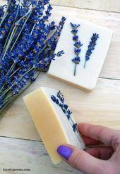 Honig & Lavendel Seifenrezept + Anleitung   – Kosmetik diy