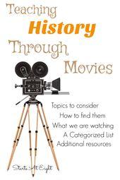 Educating Historical past Via Films