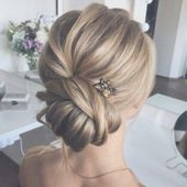 Beautiful wedding updo hairstyles, bridal hairstyle #weddinghair #hairstyles#updohairstyle #weddinghairstyles