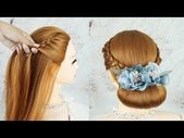Easy Hairstyles For A Special Occasion | Elegant Hairstyle | Bridal Updo Hairstyle Tutorial - YouTube - #bridal #elegant #hairstyle #hairstyles