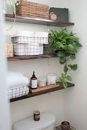 55 Bathroom Storage Solutions for Small Space  #apartment #Bathroom #Small #Sol