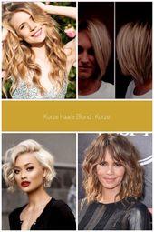 Short hair blonde. Short hair blonde. Fashion short hair 2019 hair ideas … – short hair blonde. … – #blond #ideen #kurzes – #KurzeHaareKupfer