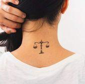 41+ Ideas Tattoo Ideen Sternzeichen Waage