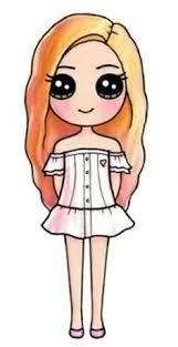 Dibujos De Personas Kawaii Faciles Busqueda De Google Cute Drawings Kawaii Girl Drawings Cute Easy Drawings