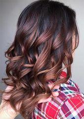 Tendance des cheveux bruns: 23 couleurs magiques de cheveux bruns à essayer   – Make up & Hair
