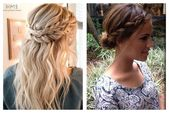 Braided hairstyles are of course indispensable for a dirndl. We show the …