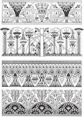 Creative Haven Art Deco Egyptian Designs Coloring Book Welcome to Dover Publicat…