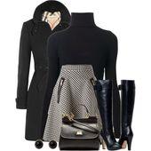 17 Schwarz Rollkragen Outfit Ideen Sie werden diesen Winter versuchen