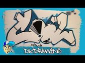 How to draw cool graffiti letters step by step – YouTube   – Grafitti