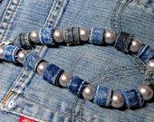 Jeans Jewelry & Pearls, Jean Jewelry, #amp #Jean #Jeans #Pearls #Jewellery