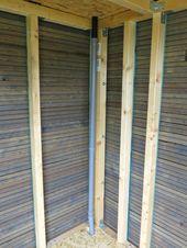 DIY: Gartenhütte – Gartenhäuschen – #DIY # Gartenhäuschen # Gartenhäuschen #Garten #Schuppen …   – Piercings