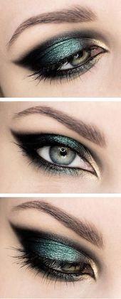 15 Ideen für Augen-Make-ups, die Sie in Ihrer Freizeit ausprobieren können   – Make-up