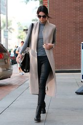 15 cool ways to make a long vest for the spring