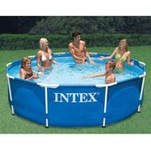 Https Www Raysgiftsandmore Com P 10 X 30 Metal Frame Pool With Images Swimming Pool Hot Tub Pool Above Ground Swimming Pools