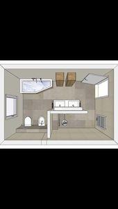 Wand der Duschwanne – bathroom.todayp … – #badezimmertodaypincom #der #shower