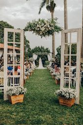 Wunderbare Hochzeit auf dem Bauernhof