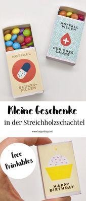 Photo of Maak zelf kleine geschenken en souvenirs – Gratis printables voor luciferdozen