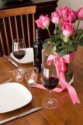 Romantisches Abendessen zu zweit – Wasser – #Dinner #Romantik #Wasser …   – Folgen Sie für leckeres Essen