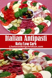 Italian Antipasti Platter – Keto and Low Carb