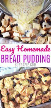 Easy bread pudding Easy Vanilla Cupcake recipe fro…