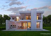Ein elegantes einfamilienhaus: häuser von lk&projekt gmbh,modern | homify