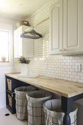 65 + schöne moderne Bauernhaus Küche Dekor Ideen