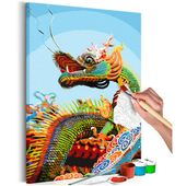 Peinture par lui-même – Colorful Dragon 40×60 – ARTGEIST   – Products
